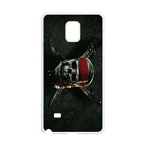 Custom Case Skull For Samsung Galaxy Note 4 N9100 Q9V142698