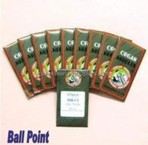 100 Ball Point 15X1 HAX1 130/705H Home Sewing Needles )