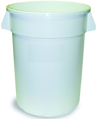 Continental Manufacturing Company 1001WH REFUSE 10GAL RND...