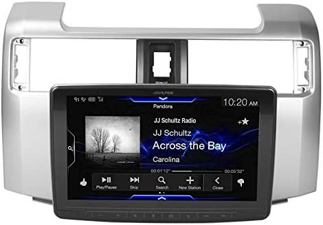 Alpine Electronics iLX-F309FRN Alpine Electronics iLX-F309TCM 9 in-Dash Mech-Less System for 2016-up 4-Door Toyota Tacoma
