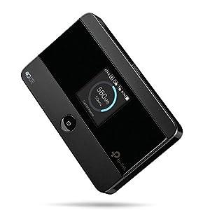 TP-Link Routeur Mobile 4G LTE-Advanced Wifi Bi-Bande, Batterie Rechargeable 2000 mAh, 1 Port Micro USB, 1 Emplacement…