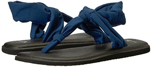 Navy Sling Peony Ella Prints Sanuk Sandals Yoga T6Xpwp