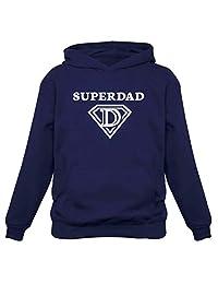 TeeStars - Super Dad Birthday Gift Father's Day Super Hero Husband Hoodie