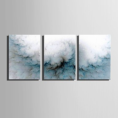 XGHC Stretched Canvas Art The Riddle Of Dust Decoration Painting Set Of 3 , include inner frame , 16