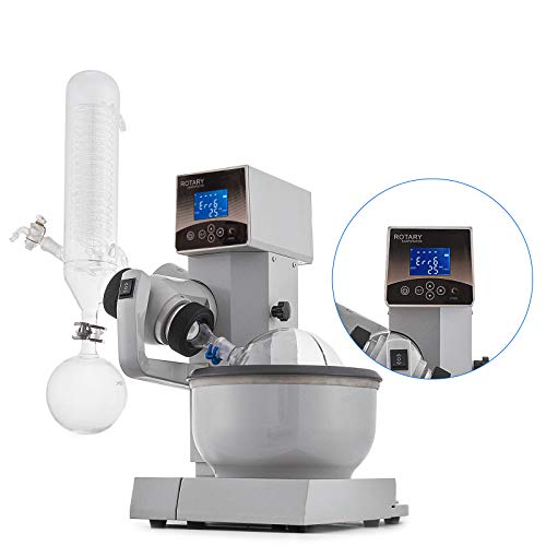 - Mophorn 2L Rotary Evaporator RE-2000E Lab Rotary Evaporator 20-200rpm Evaporation Apparatus Electric Lifting Evaporator Heating Water Bath for Efficient Gentle Removal of Solvents(2L, White)