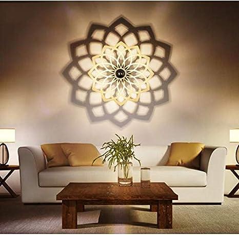 Einfache Wand-Lampe Kreative Led Personalisierte Wohnzimmer Wandleuchte  Treppe Eingang Wandleuchte Schlafzimmer Bedside Lampe Wandleuchte Schatten  ...