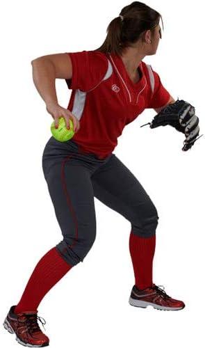 RAWLINGS Womens Womens Game//Practice No-Zip Yoga Style Softball Pant Series