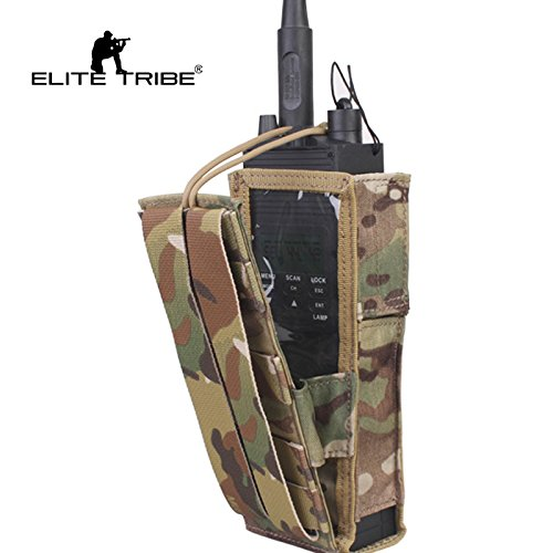(Tactical PRC148/152 Radio Pouch Multicam)