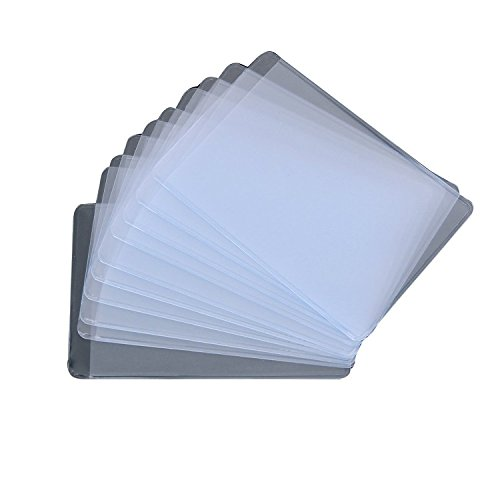 Clear Plastic Business Cards - 3