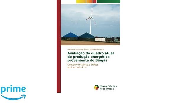 Avaliação do quadro atual de produção energética proveniente do Biogás: Contexto Histórico e Efeitos socioeconômicos (Portuguese Edition): Hannah Kathren de ...