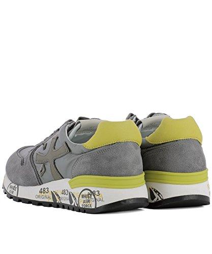 Premiata Mænd Mick2827 Grå Ruskind Sneakers FL2X8stP