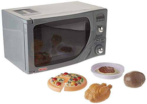 41DGn9eaN5L - Casdon Electronic Toy Microwave