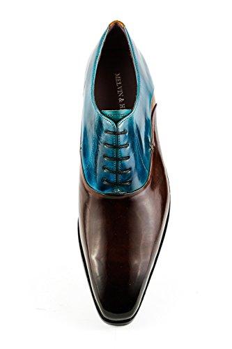 960 de Melvin Hamilton amp; Marron Homme Ville Chaussures Lacets MH15 à Marron pour qqtTwS
