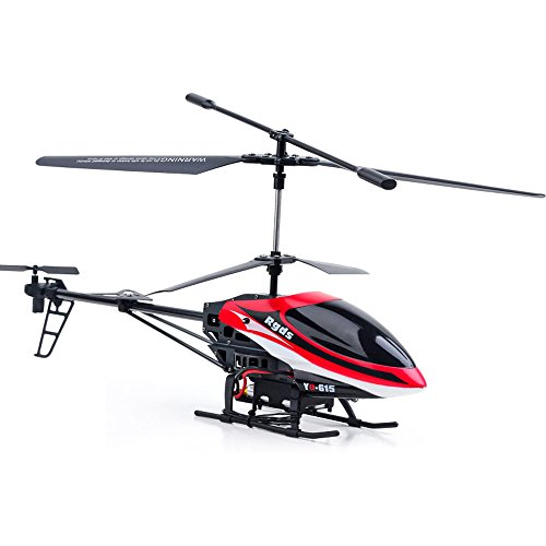 Digood YD615 LED Lamp Three Channel Dual Propeller Luminous Remote Control Helicopter (Red)
