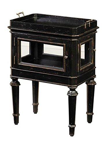 Pulaski Javan Accent Table  20 By 27 5 By 14 Inch  Black