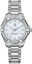 Tag Heuer Aquaracer 300M Women's Diamond Watch - WAY1314.BA0915
