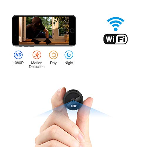 AOBO Hidden Camera WiFi Camera Mini Wireless HD 1080P Indoor Home Small Hidden Nanny Cam Security Cameras (spy Camera) ()