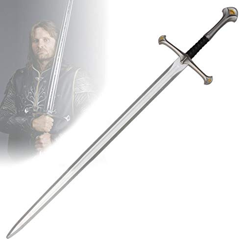 RealFireNSteel Lord of The Rings - Aragorn's Anduril Sword (LARP Friendly) -