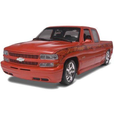 1:25 '99 Chevy Silverado Pickup Car Model Kit - 1 25 Chevy Silverado