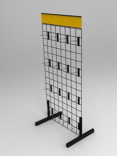 FixtureDisplays Wire Gridwall Display Rack 11051 11051 by FixtureDisplays