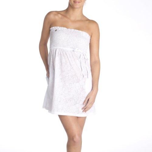 Kleid weiß Damen Lole Lole Damen Sunlit Sunlit Kleid gTpnq