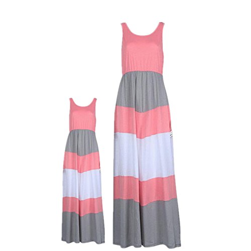 Anboo Mommy and Me Matching Dresses Long Maxi Beach Sundress