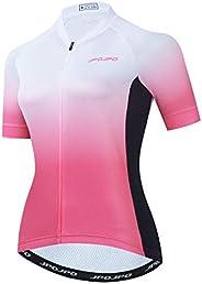 Weimostar Women's Cycling Jersey Short Sleeve Bike Shirt