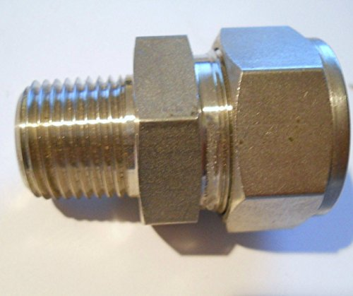 316 Stainless Steel Union A-lok - Compression 1/4