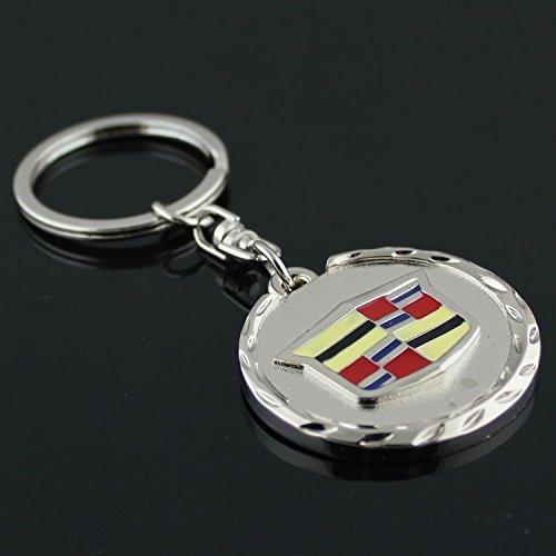 Cadillac 3D Metal Logo Car Key Chain Ring Marked Model Keychain
