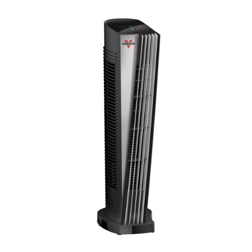 Vornado ATH1 Whole Room Tower Heater with Automatic Climate Control Black