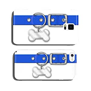 Blue Nylon Animal Collar With Tag cell phone cover case iPhone6 Plus