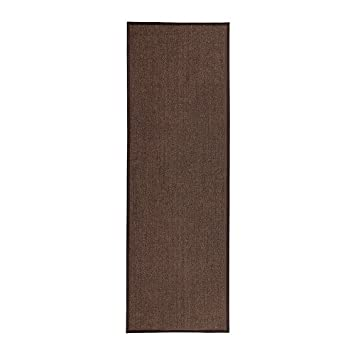 Ikea Osted Tapis Flatwoven Marron 80 X 240 Cm Amazonfr