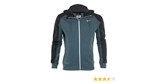 07c157f803af Amazon.com  Nike Elite Stripe Performance Full-zip Basketball Hoodie Mens  Style   645087  Sports   Outdoors
