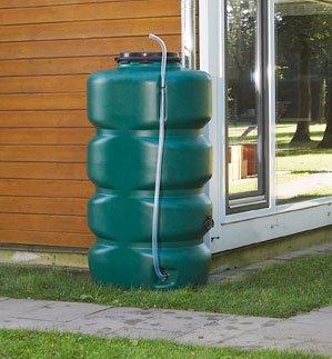Garantia Gartentank - Set 2000 ltr. Dunkelgrün