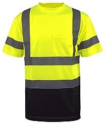 L&M Hi Vis Class 3 T Shirt Reflective Sa...