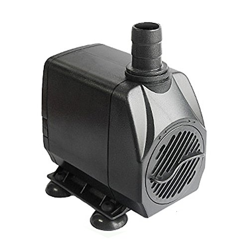 Owncons 660GPH Submersible Pump 45W Fountain Water Pump with For Aquarium, Fish Tank, Pond, (Aquarium Pond Supplies)