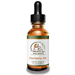 Valerio Pet Hemp Oil Dogs & Cats