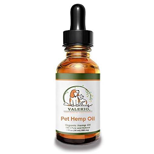 Valerio Pet Hemp Oil Dogs & Cats