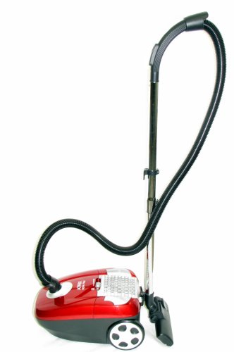 Atrix - Turbo Red AHC-1 Canister Vacuum with 6 Quart HEPA filter and Variable Speed
