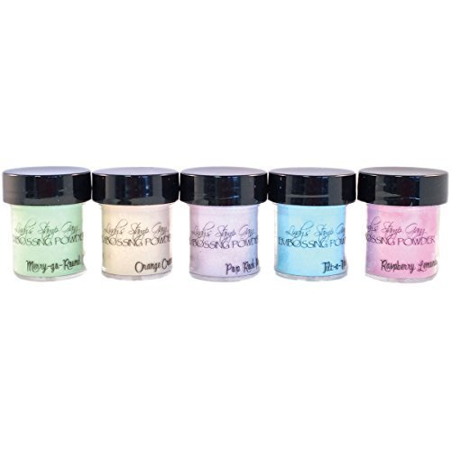 Lindy's Stamp Gang 2-tone Embossing Powder .5 oz 5 kg-Under The Boardwalk by Lindy's Stamp Gang