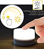 RTSU Bedside Lamp, Dimmable Touch Tap Light Novelty Light, Kids Children Adult LED Nightlight, Table Desk Atmosphere Decorative Mood Light Lamp, Bedroom Living Room Baby Nursery Night Light