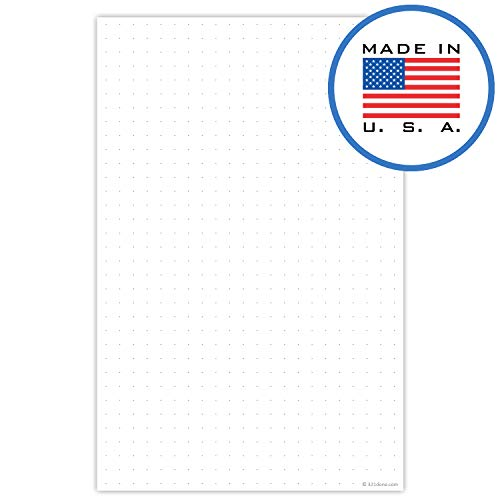 321Done Dot Grid Notepad - 50 Sheets (5.5