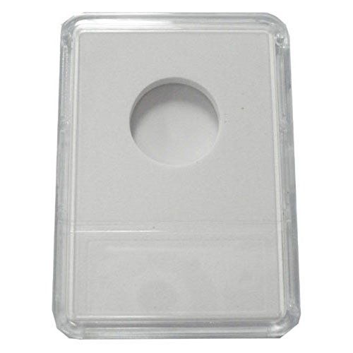 UPC 099304028308, Slab Coin Holders with White Labels - Nickel (25 Holders)