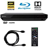 Sony 4K Ultra HD Blu Ray Player with 4K HDR and Dolby Vision + 6FT HDMI Cable - (UBP-X700)