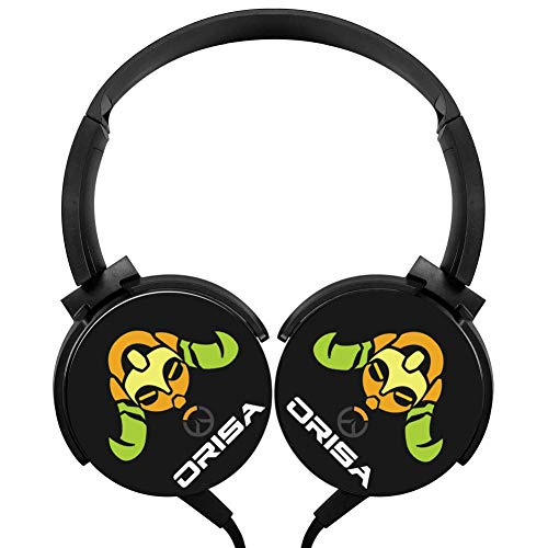 Pretty Girl_ORISA Wired Headphones Over Ear Wired Headset Stereo Hi-Fi for PC/Cell Phones/TV