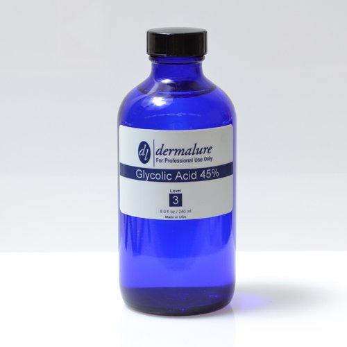 Glycolic Acid Peel 45% 8oz. 240ml Pro Size (Level 3 pH 1.1)