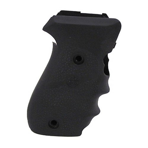 Finger Grooves Rubber Grip - Hogue Rubber Grip Sig Sauer P220 American Rubber with Finger Grooves
