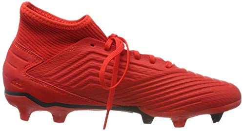 3 Fußballschuhe Herren Eu rojsol rojact negbás Adidas 000 Predator Mehrfarbig Fg 19 qApqfw4