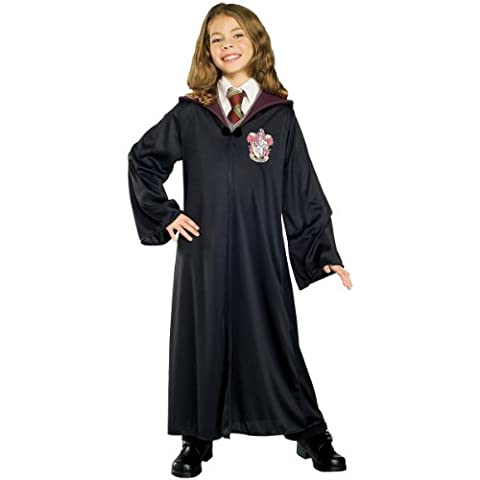 Rubies Costume Harry Potter Child's Hermione Granger Gryffindor Robe,Large