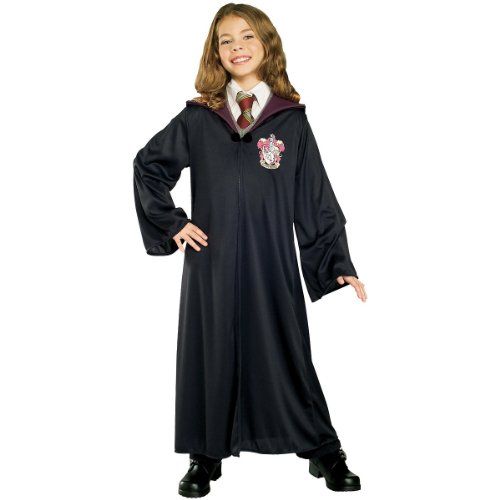 Harry Potter Costumes For Baby (Rubies Costume Harry Potter Child's Hermione Granger Gryffindor Robe,Large)